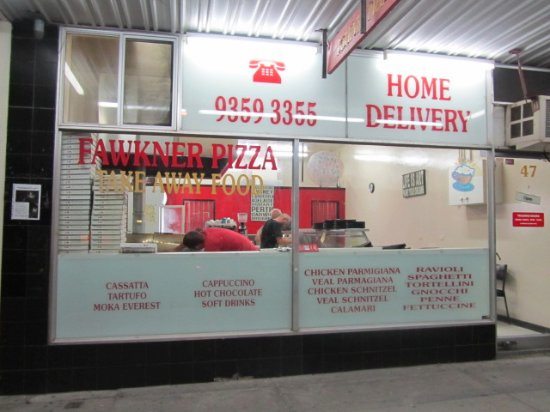 Fawkner Pizza - Restaurant Find