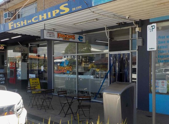 Fish N Chips On Civic - Restaurant Find