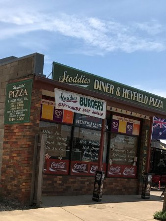 Stoddies Diner  Heyfield Pizza - Restaurant Find