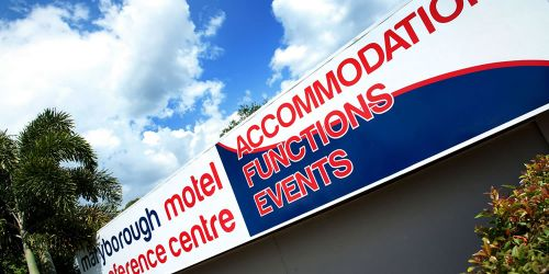 Maryborough Motel  Conference Centre - Restaurant Find
