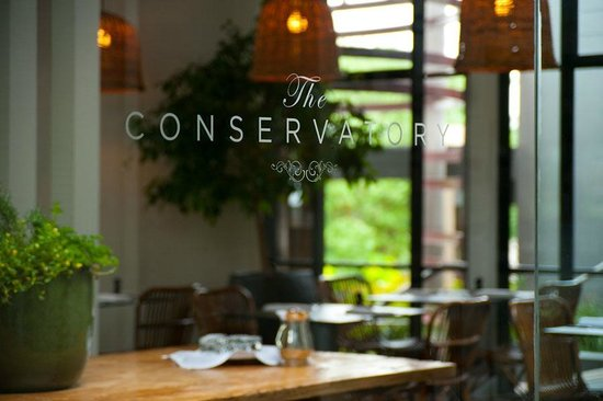 The Conservatory - Restaurant Find