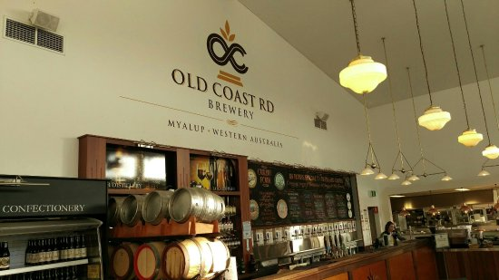 Old Coast Road Brewery - Restaurant Find